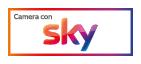 Logo Camera con sKY
